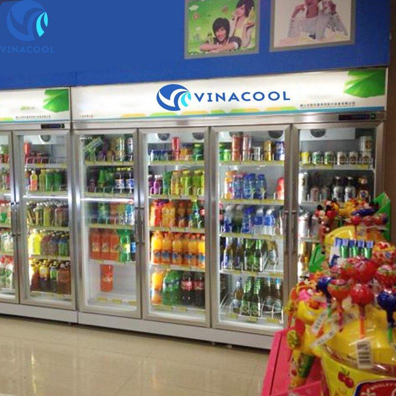 tủ lạnh trưng bày nước ngọt slg-1800fs