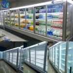 tủ kính trưng bày thực phẩm slg-1500fya