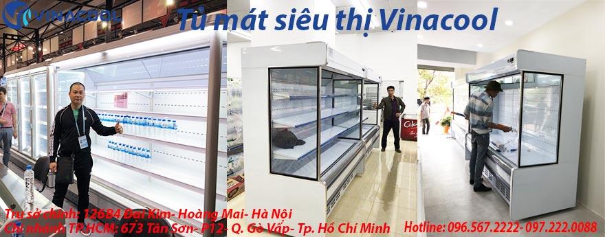 banner tủ mát siêu thị vinacool
