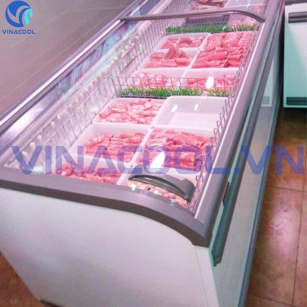 tủ bảo quản thực phẩm đông lạnh vinacool