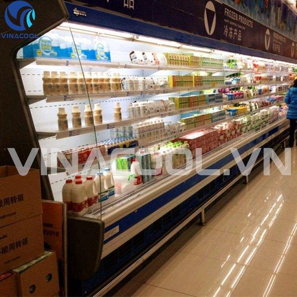 Thiết kế tủ mát trưng bày thực phẩm Vinacool SLG-2000FB