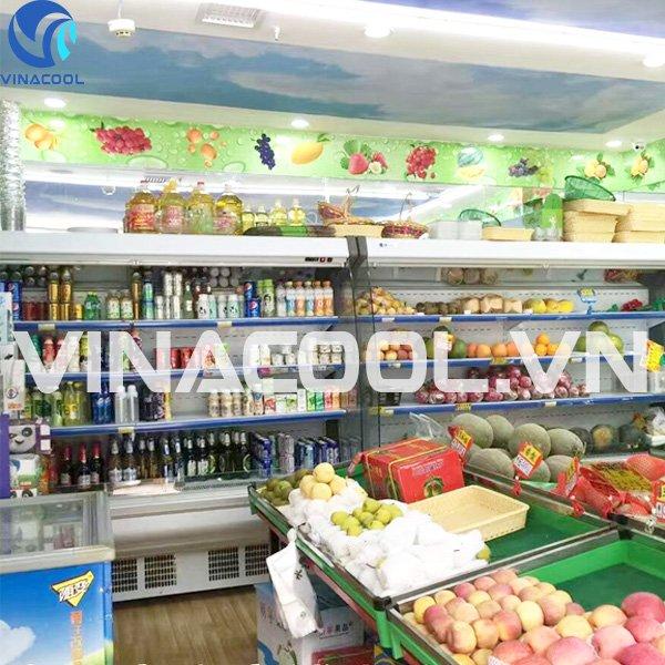Nguyên lý hoạt động tủ mát trưng bày thực phẩm Vinacool SLG-2000FB