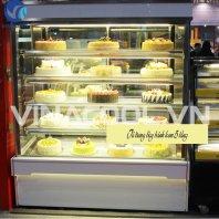 tủ trưng bày bánh ngọt 5 tầng vinacool DL-1200