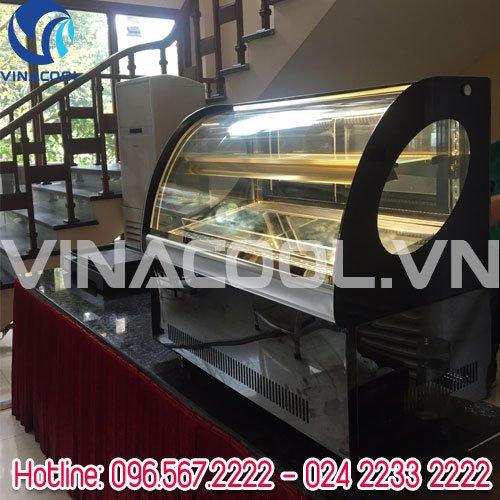 Tủ trưng bày bánh kem để bàn vinacool