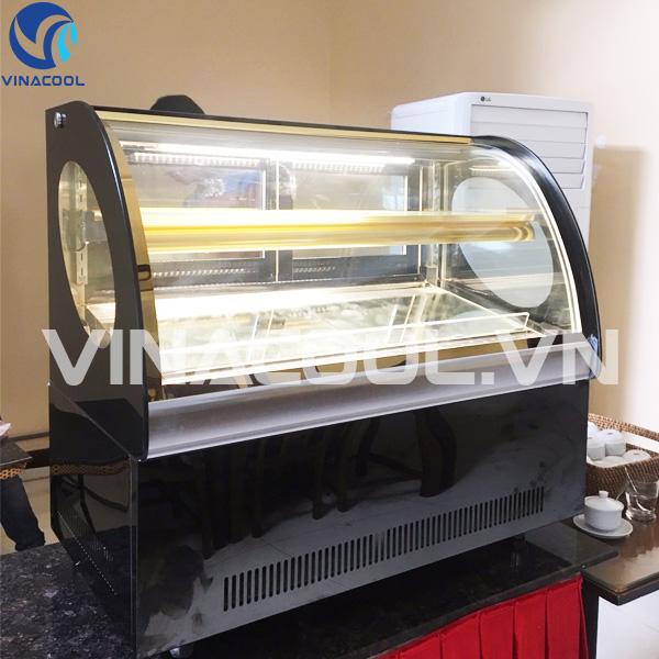 Tủ trưng bày bánh kem để bàn TLS90