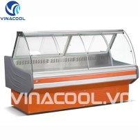 tủ trưng bày thức ăn chín vinacool slg-2000fy