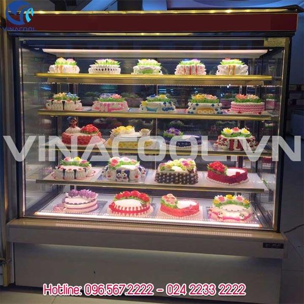 tủ trưng bày bánh gato 5 tầng vinacool