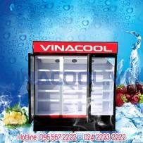tủ đông vinacool 3 cánh kính SLD-1840F