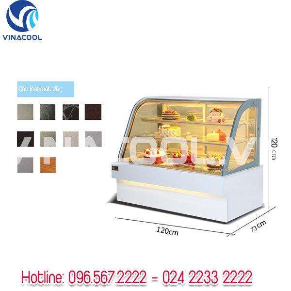Tủ trưng bày bánh sinh nhật vinacool sgf-680