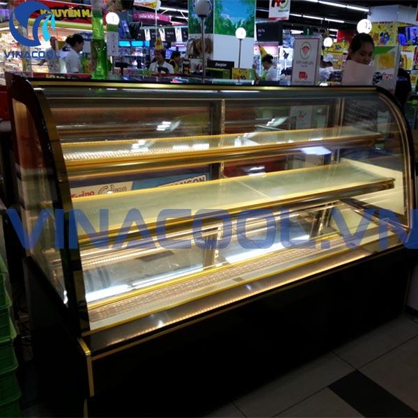 tủ trưng bày bánh kem vinacool sgf580
