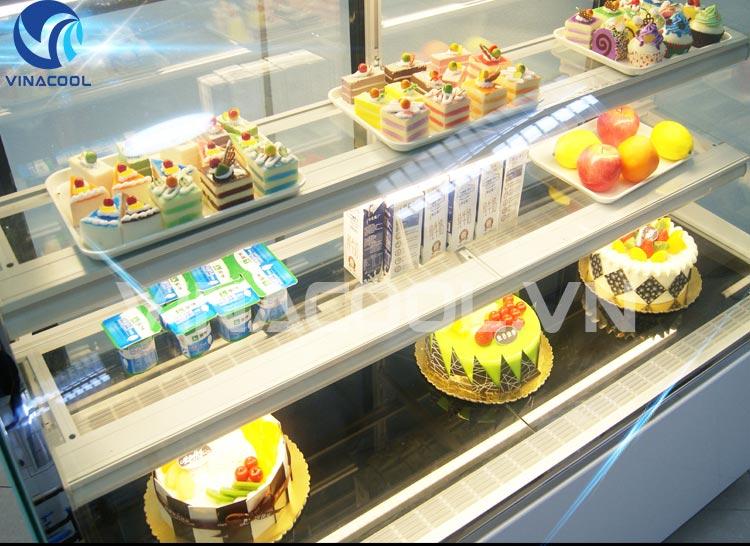 bánh tủ trưng bày bánh ngọt mini