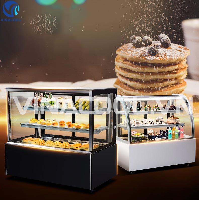 hướng dẫn sử dụng chế độ sấy kinh và phun ẩm cho tủ trưng bày bánh kem