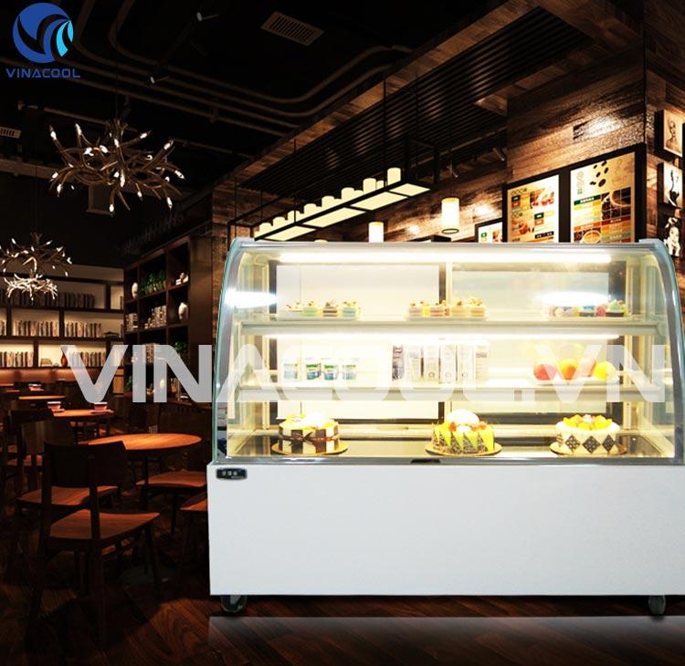 thiết kế không gian đẹp cho tiệm bánh ngọt