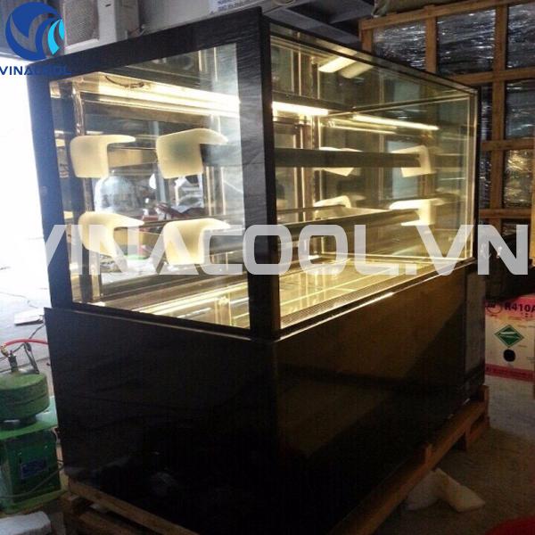 tủ trưng bày bánh kem kính đứng 3 tầng giá rẻ
