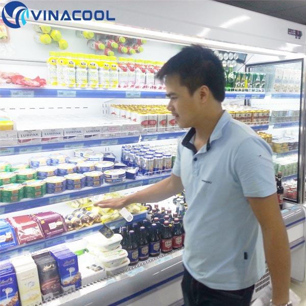 lắp đặt tủ mát siêu thị tại TP.HCM
