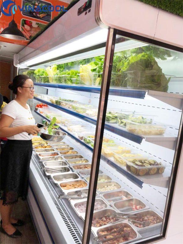 tủ mát trưng bày slg tại TP.HCM