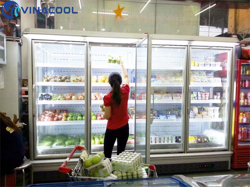 tủ trưng bày siêu thị tại Thái Nguyên