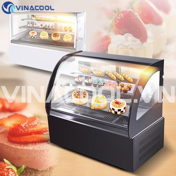 nên để nhiệt độ tủ trưng bày bánh gato là bao nhiêu?
