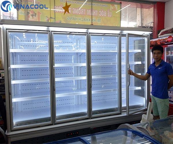 tủ mát siêu thị tại Đà Nẵng