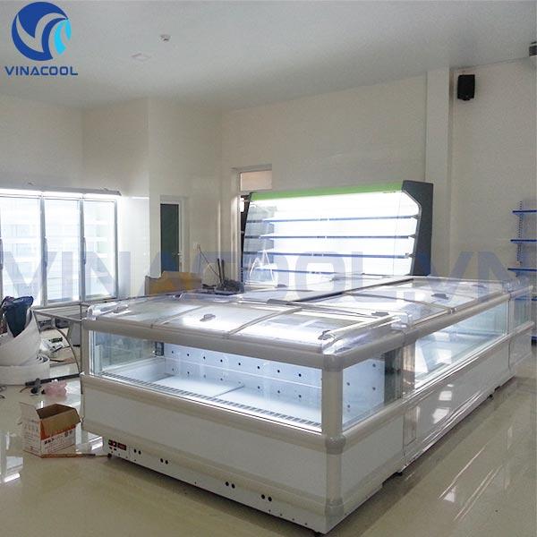 tủ đông đảo siêu thị Vinacool