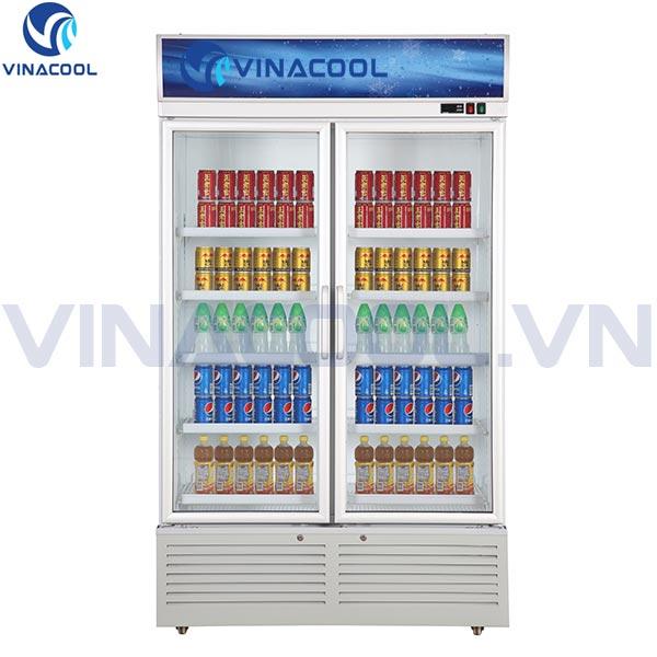 tủ mát trưng bày thực phẩm 2 cánh kính Vinacool