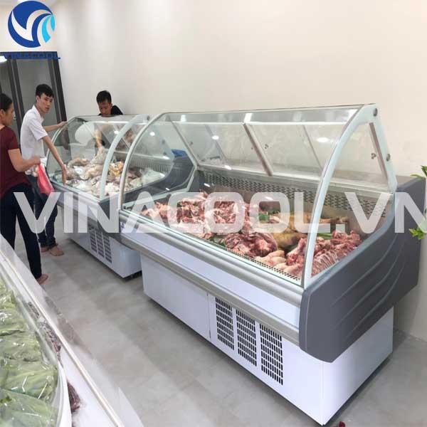 tủ trưng bày thịt tươi vinacool