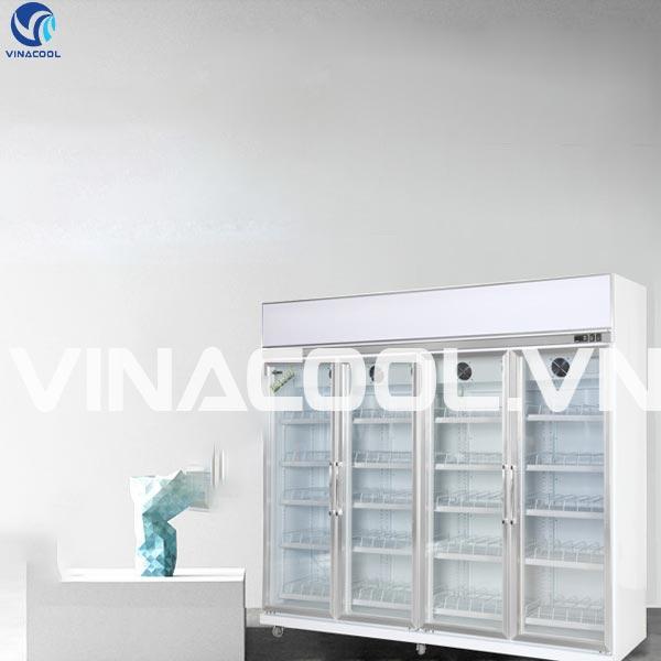 Tủ mát 4 cánh kính SLG-2400FS Vinacool