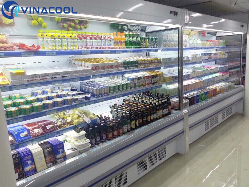 tủ mát siêu thị tại thái nguyên