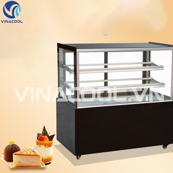 Tủ mát trưng bày bánh kem kính vuông 3 tầng Vinacool