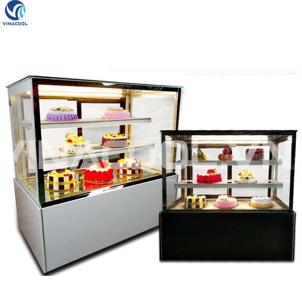 tủ trưng bày bánh ngọt kính vuông Vinacool