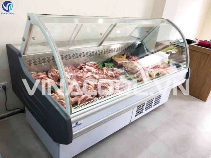 tủ bảo quản thịt tươi Vinacool