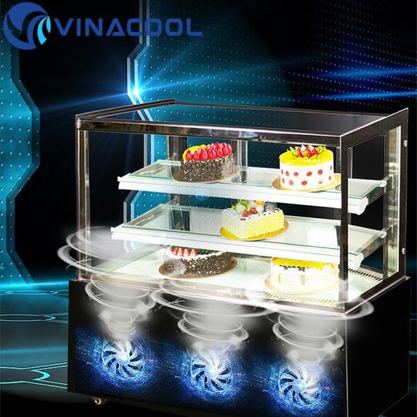 giá tủ lạnh trưng bày bánh kem tốt