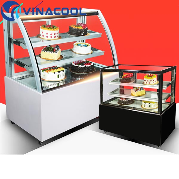 giá tủ trưng bày bánh kem