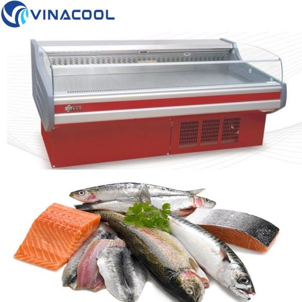 mua tủ trưng bày thịt cá