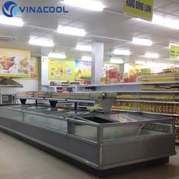 tủ đông trong hệ thống siêu thị