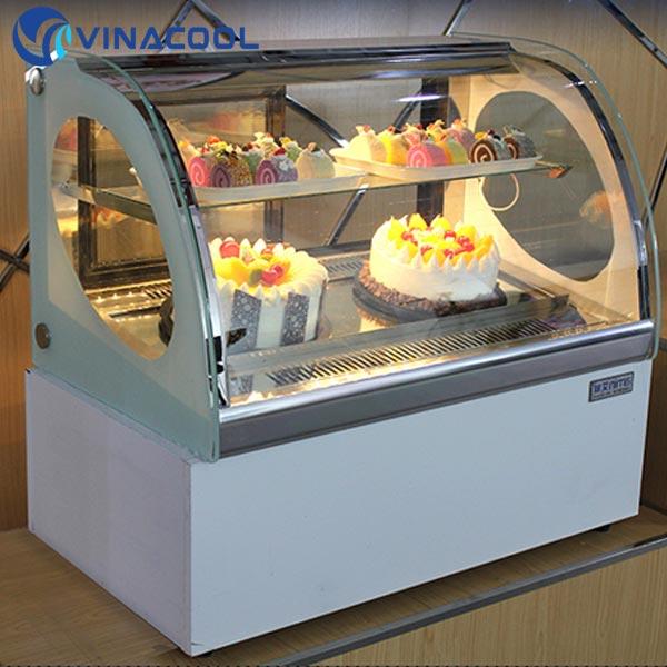 tủ trưng bày bánh kem vinacool để bàn giá rẻ