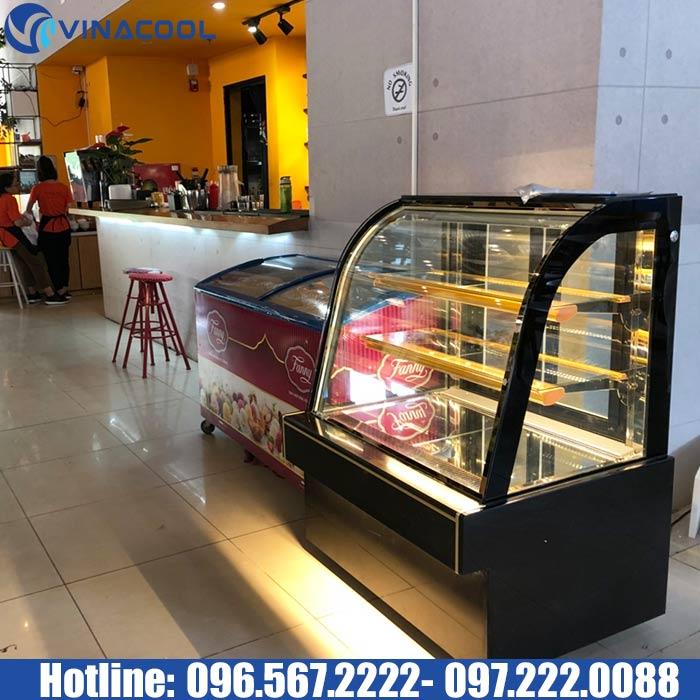 tủ bánh kem giá rẻ Vinacool