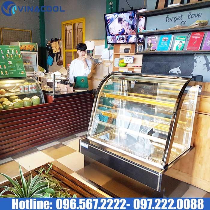 tủ để bánh kem quán cafe DH900
