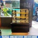 tủ bánh kem kính cong DH900