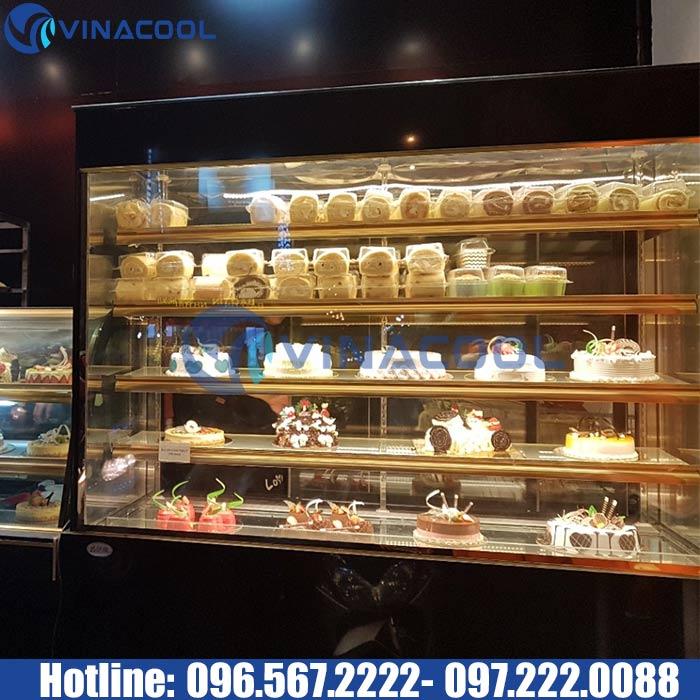 tủ trưng bày bánh ngọt 5 tầng