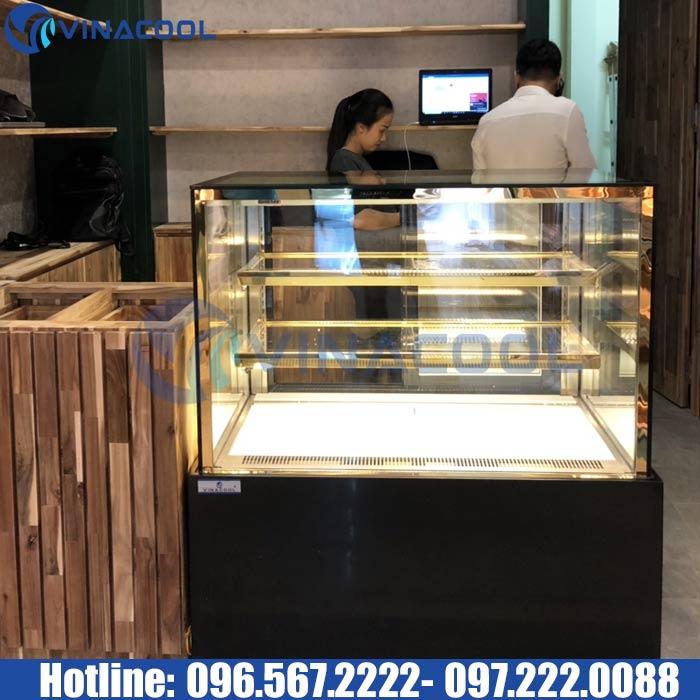 Tủ bánh kem 1m kính đứng VinacoolDZA-1000