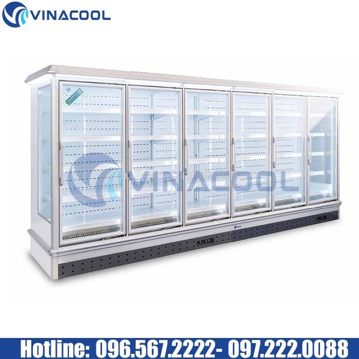 Tủ trưng bày thực phẩm siêu thị Vinacool SLD-3000FMAW