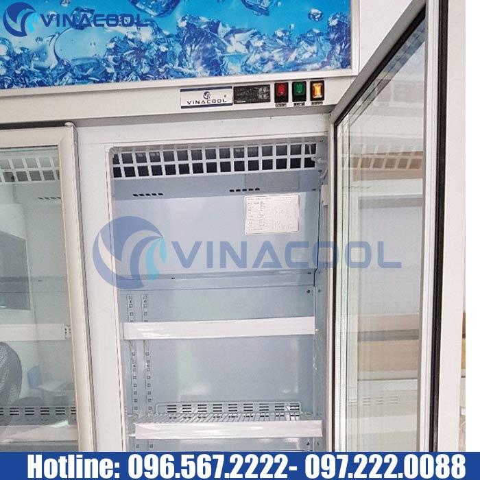 tủ mát 2 cánh Vinacool