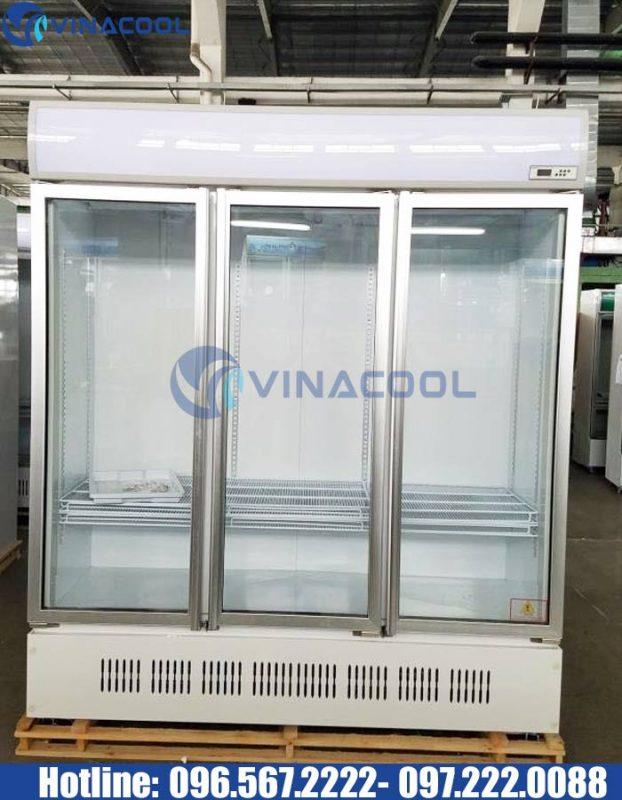 tủ 3 cánh kính Vinacool giá rẻ LG-1200M3/w