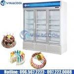 tủ trưng bày bánh kem 3 cánh kính Vinacool SLG-1800F