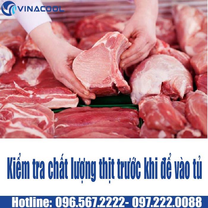 kiểm tra chất lượng thịt khi bảo quản
