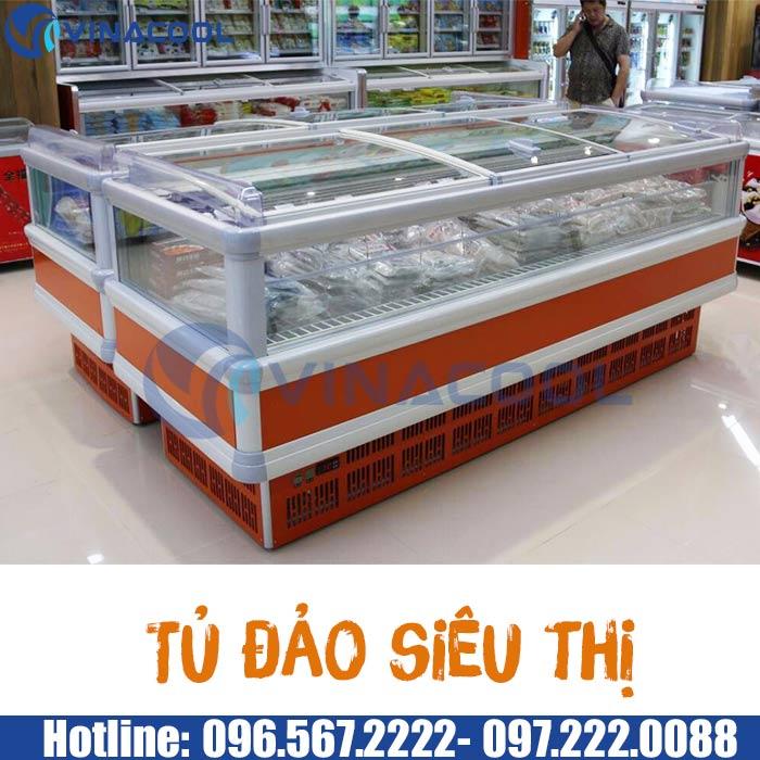 tủ đảo siêu thị