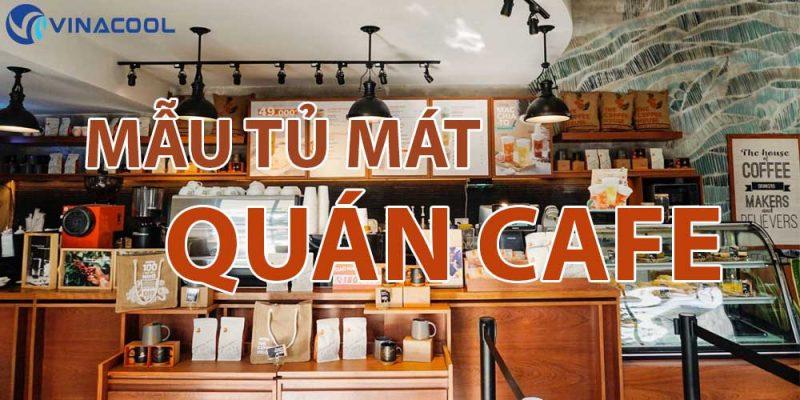banner tủ mát cho quán cafe