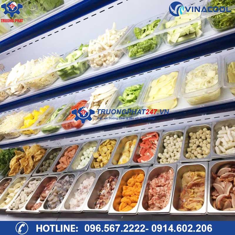 tủ mát để thức ăn cho nhà hàng