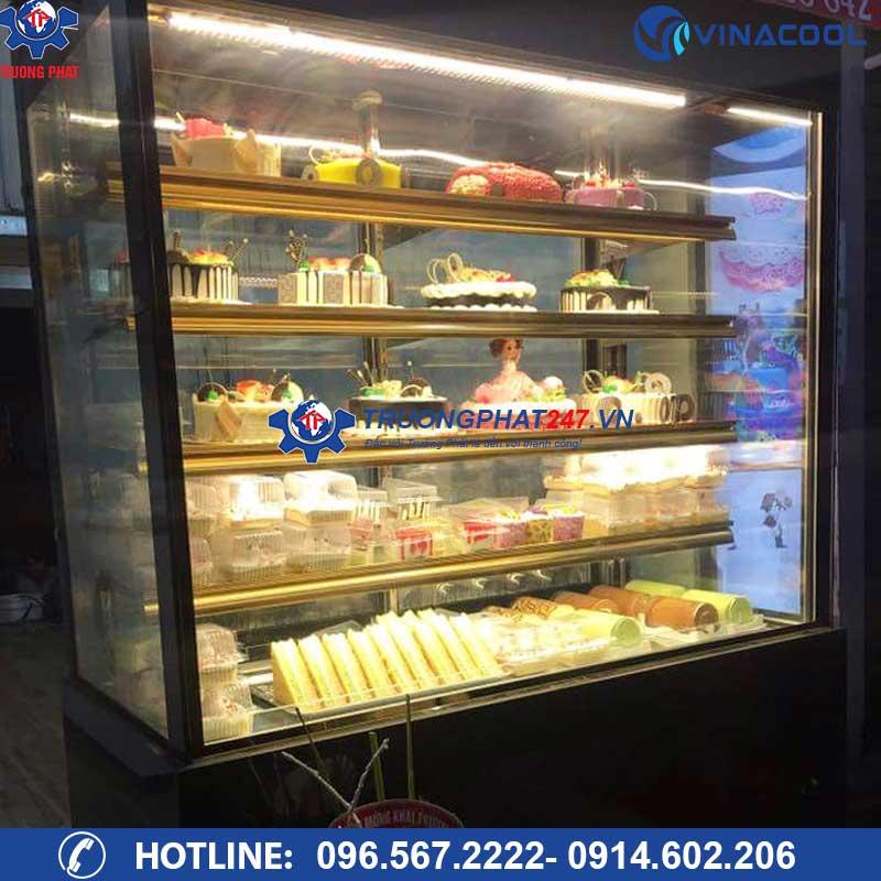 tủ mát đựng bánh kem 5 tầng